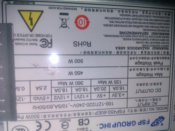 -3- - (Grafikkarte, Netzteil, Radeon 6950)