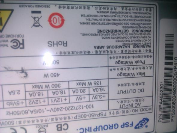 -4- - (Grafikkarte, Netzteil, Radeon 6950)