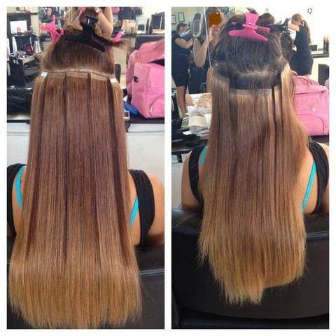 Das sind zb die seamless hair - (Haare, Beauty, Frisur)