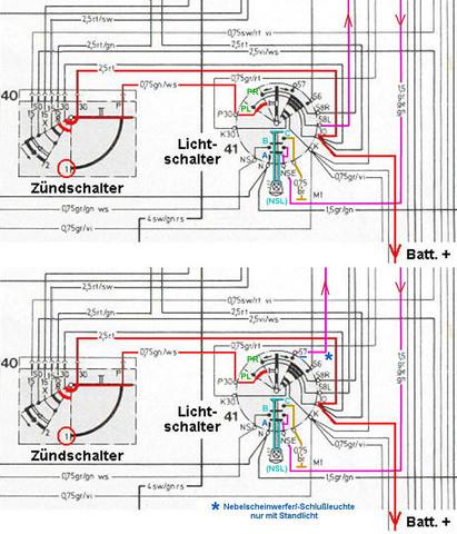 Kann man den Lichtschalter eines Porsche Boxster 986 S zerlegen, um ...