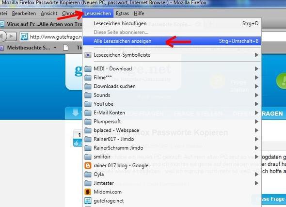 Bild1 - (Passwort, Mozilla-Firefox, neuer PC)