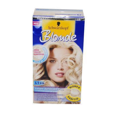 5 von denen um von braun auf weiß zu kommen dann mittelblond drauffärben - (Haare, Coloration)