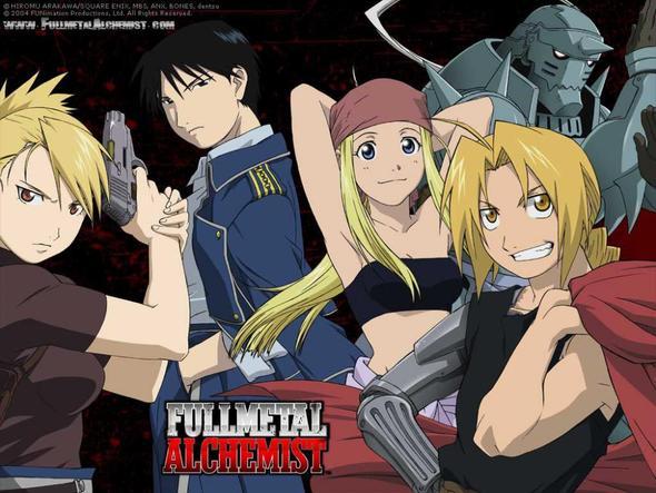 Fullmetal Alchemist - (Anime, Manga)