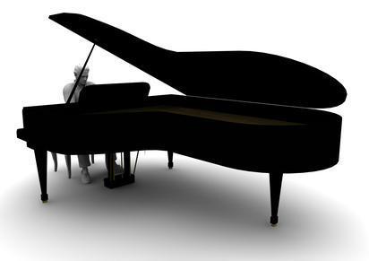 Klavier - (Instrument, zu-alt)