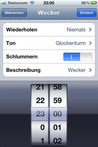 Wecker - (iPhone, weckton)