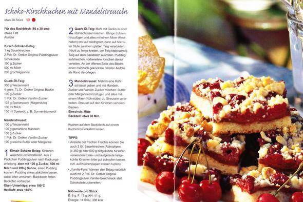 Kirschkuchen mit Quark-Öl Teig - (Kuchen, Kirschen)