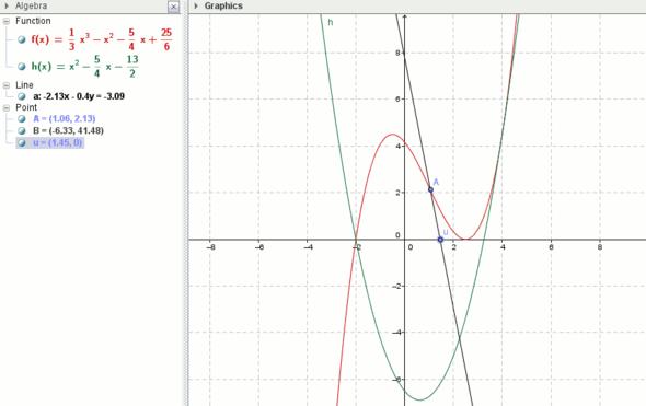 Abstand AB sehr groß - (Schule, Mathe, Mathematik)