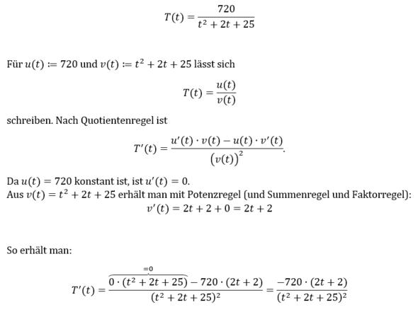 Quotientenregel - (Schule, Mathematik, Ableitung)