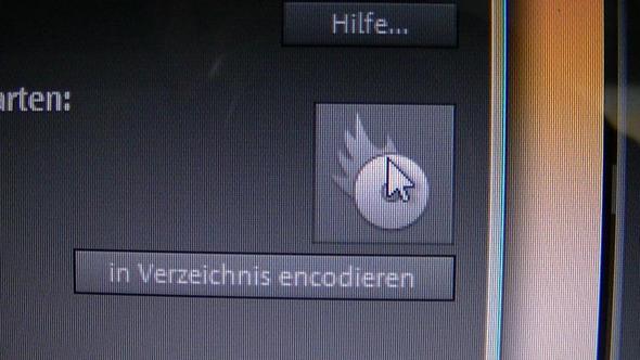 brennen klicken - (Computer, Videobearbeitung, Magix)