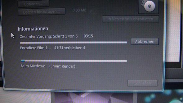 warten  - (Computer, Videobearbeitung, Magix)