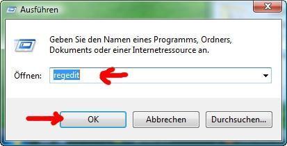 regedit - (PC, Windows 7, CD)