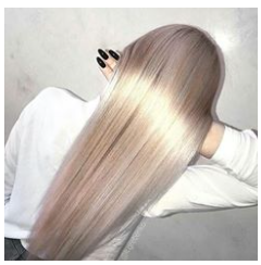 - (Haare, Farbe, Frisur)