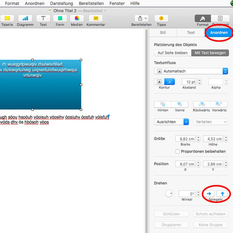 - (Apple, Pages, Schreibprogramm)