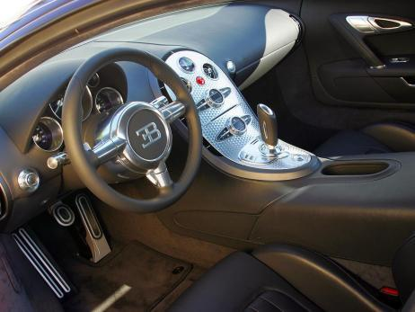 Innenraum  - (Bugatti, Veyron)