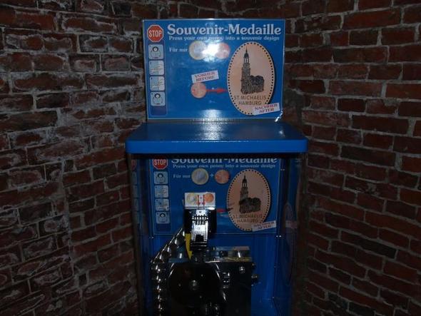 Münzprägeautomat - (sammeln, Muenzen, drücken)