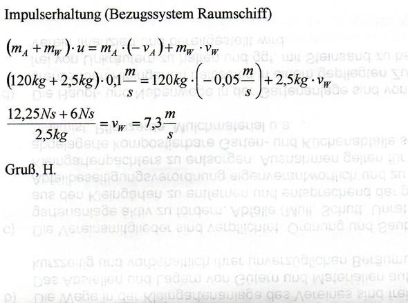 - (Physik, impulssatz)