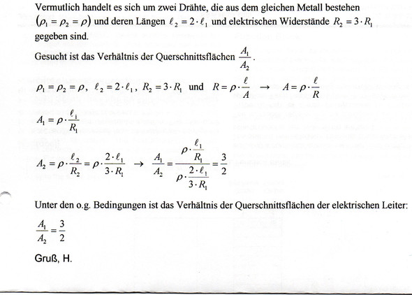 - (Schule, Physik, Widerstand)