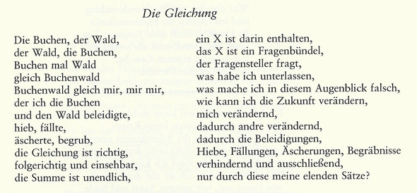 - (Gedicht, Lyrik)