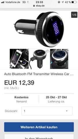 Transmitter - (Musik, Radio, Fiat 500)