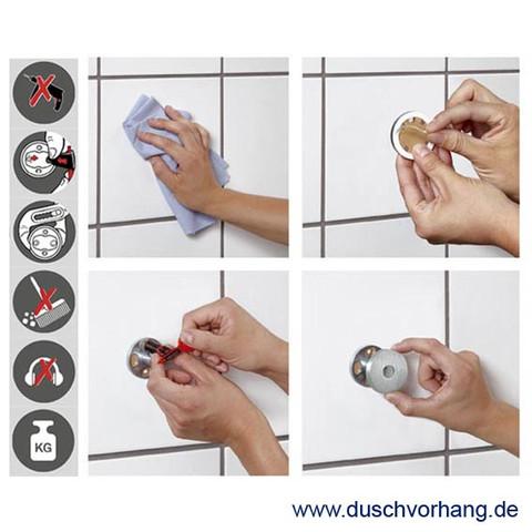 Wie Kann Man Eine Duschvorhang Eckstange Im Bad Anbringen Ohne Zu