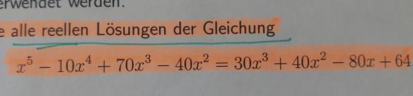 Berechnen Sie alle rellen Losungeb der Gleichung - (Schule, Mathe, Mathematik)