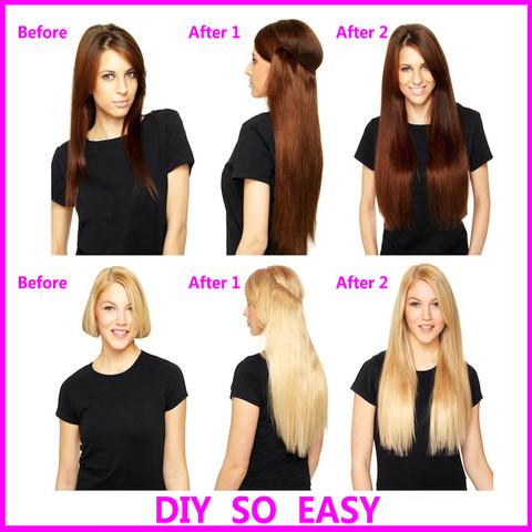 - (Haare, Extensions, Haarverlaengerung)