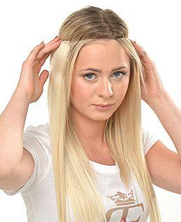 Schulterlange haare extensions