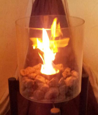 Ethanol-Kamin - (brennen, Feuer, Ofen)