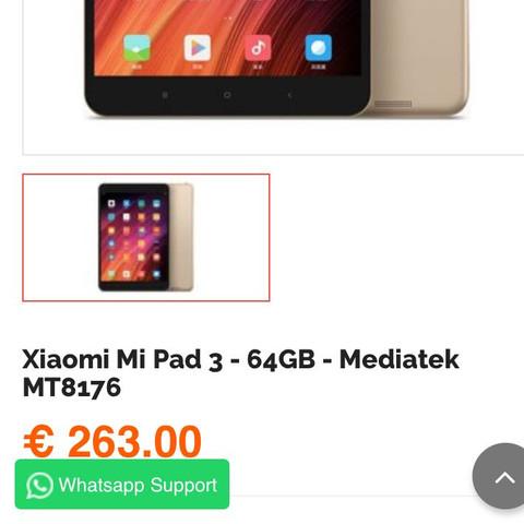 Mipad 3 bei tradingshenzen - (App, günstig, Shopping)