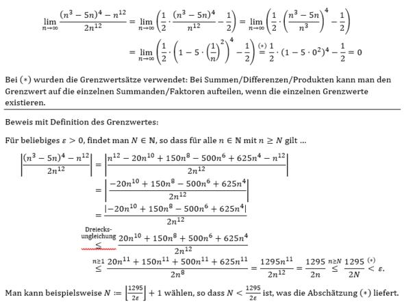 Grenzwert - (Schule, Mathe, Mathematik)