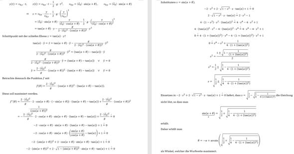 maxWurf - (Studium, Mathematik, Physik)