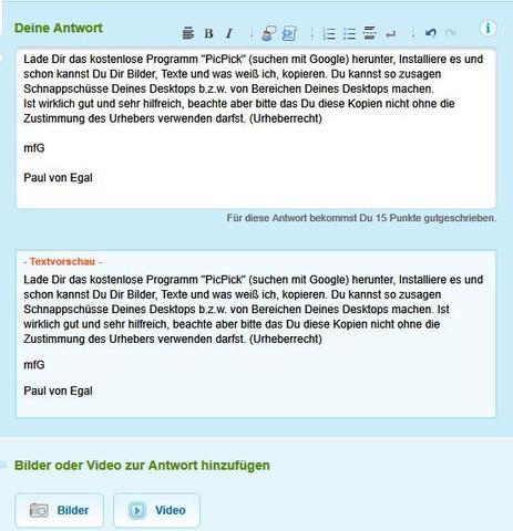 Mit PicPick pick Dir ein Pic - (Internet, Bild bearbeiung, kopier schutz)