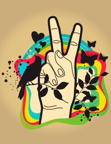 Das Hand Peace - (teenie, peace)