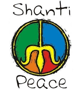 Das Zeichen das mit Shanti hat nix zu bedeuten - (teenie, peace)