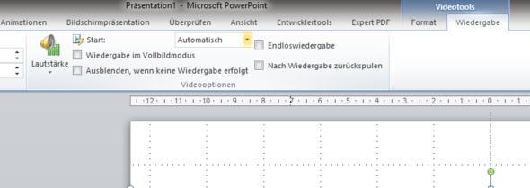 Videotool_Wiedergabe - (Powerpoint, Video einfügen)