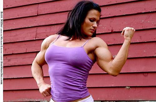 Britt Miller - (Sport, Jungs, Muskeln)