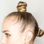 Beispiel an einer Weibliche Person  - (Haare, Beauty, Mode)