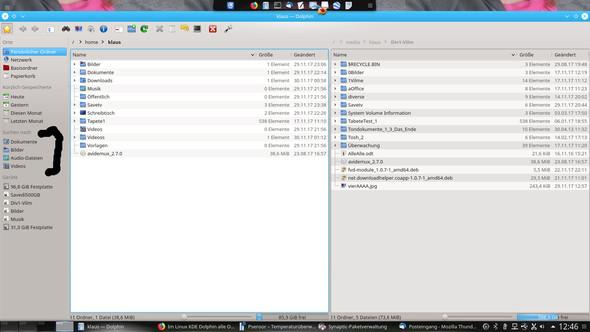 Suchen - (Linux, KDE, datei manager)