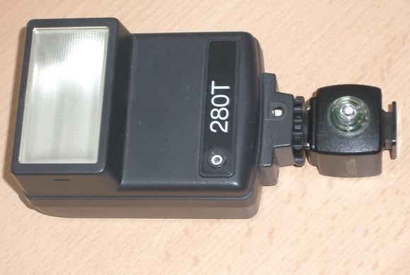 Automatikblitz mit Slave Adapter. - (Kamera, Fotografie)