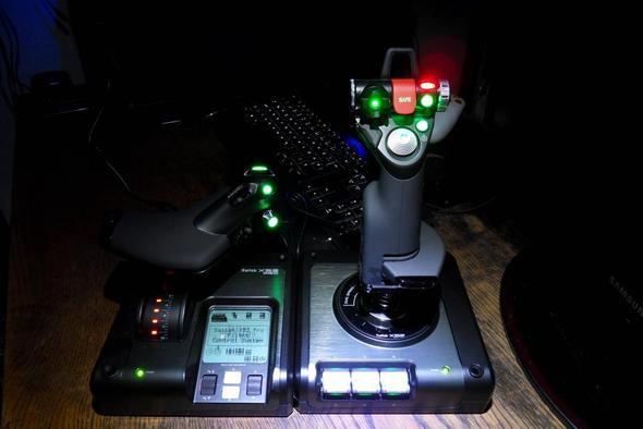 saitek x52 pro - (PC-Spiele, Controller, Flugsimulator)