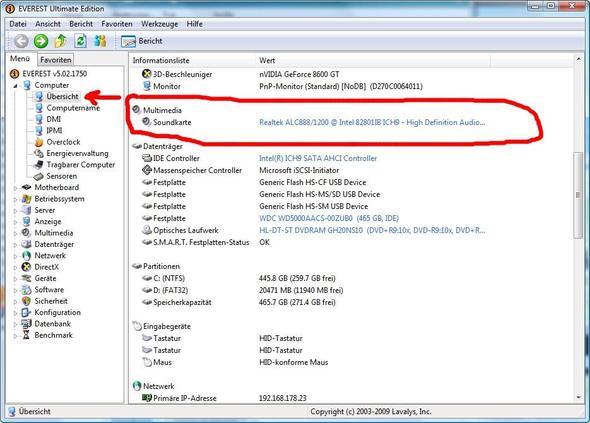 Soundkarte - (PC, Windows 7, audio)