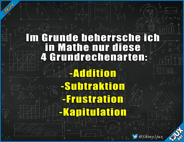 - (Schule, Mathe, Gedicht)