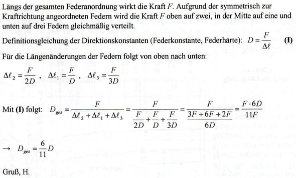 - (Schule, Physik, Federkonstante)