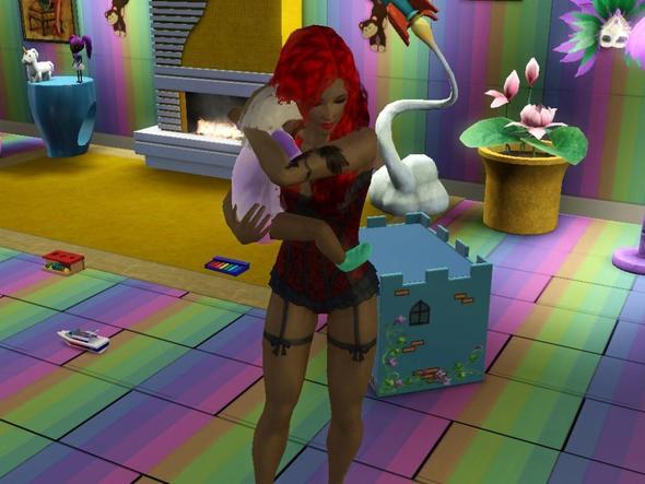 Muskeln bei weiblichem Sim - (Sims 3, Sims, bearbeiten)