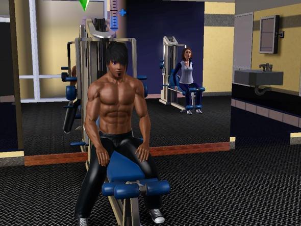 Muskeln durch LN - (Sims 3, Sims, bearbeiten)