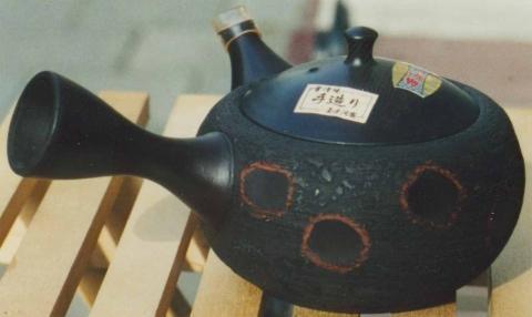 Japanisches Teekännchen für Grüntee - (Tee, aufbewahren, zweimal verwenden)