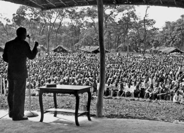 Jehovas Zeugen auf einem Kongress in Afrika - (Psychologie, Menschen, Glaube)