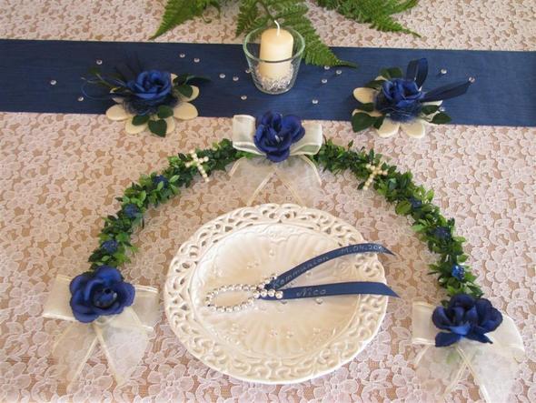 tischdeko - (Hochzeit, Blumen)