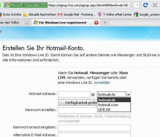 hotmail.de - (E-Mail)