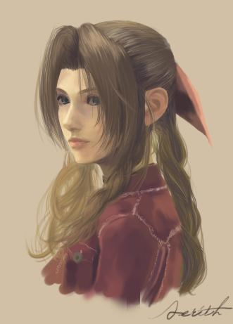 Aerith_Gainsborough2 - (Anime, Bedeutung, Final-Fantasy)